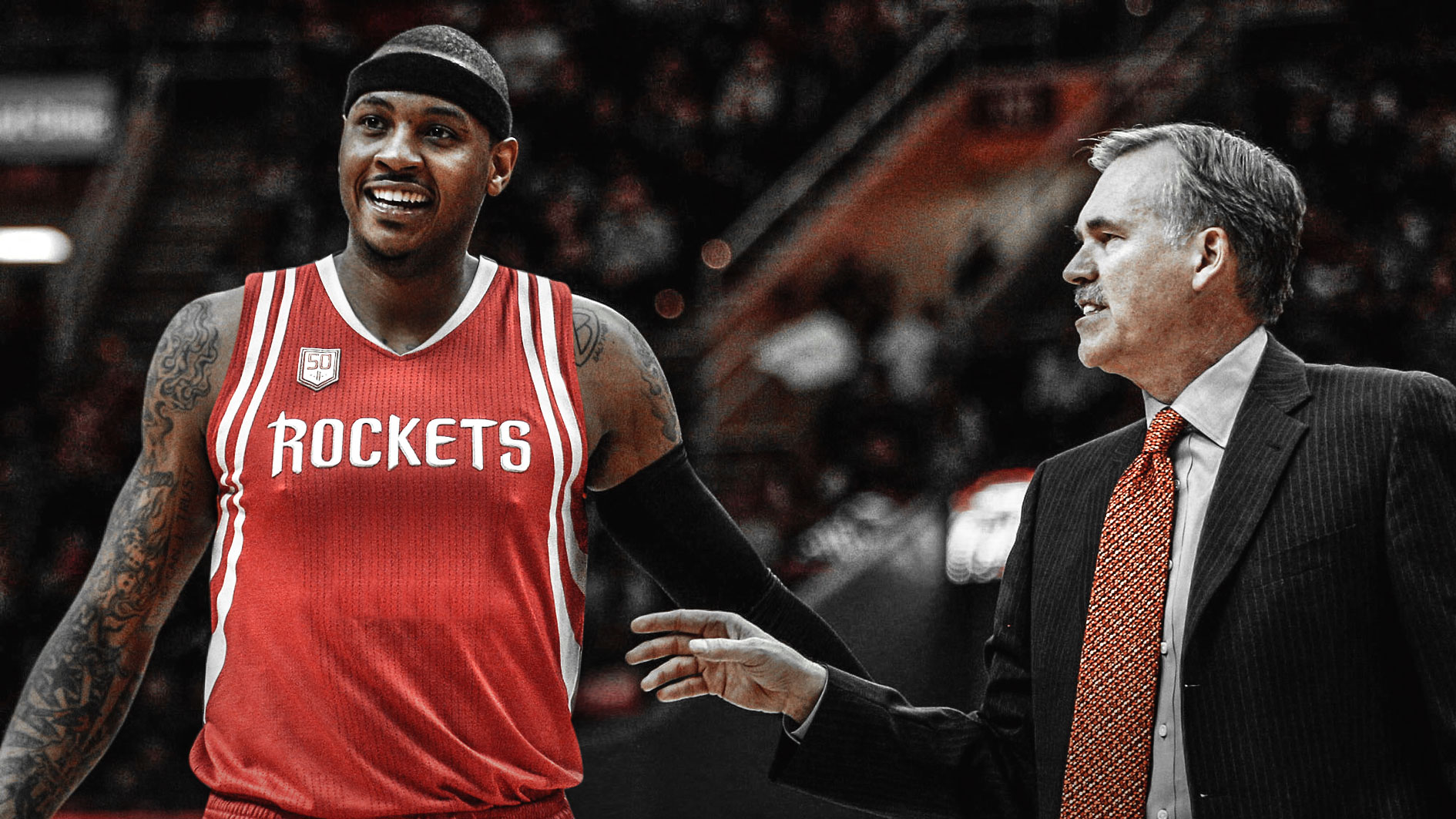Carmelo Anthony, Mike D'Antoni