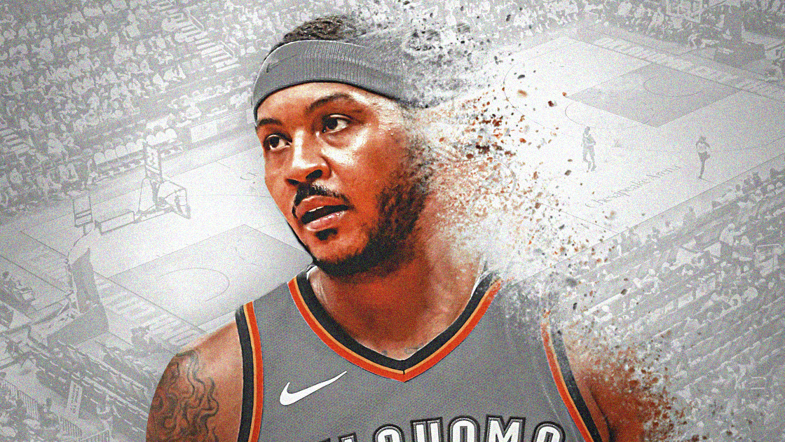 Carmelo Anthony, Thunder