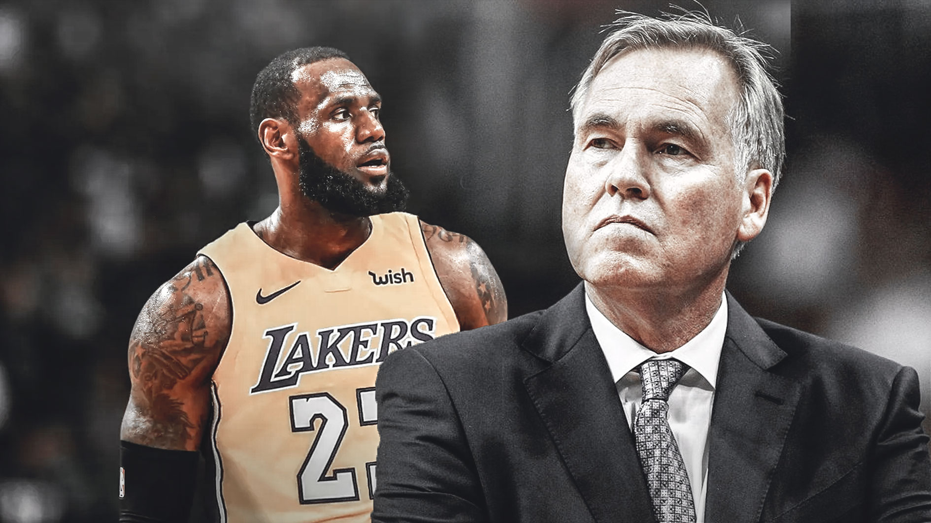 LeBron James, Mike D'Antoni