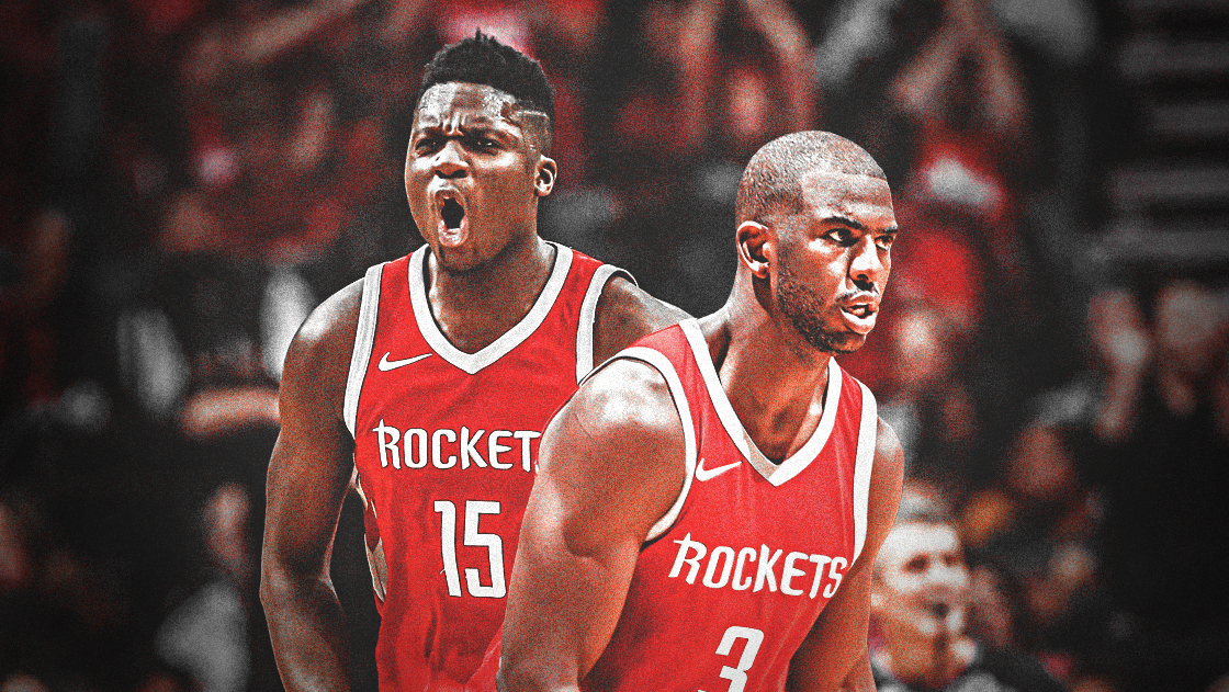 chris paul, clint capela