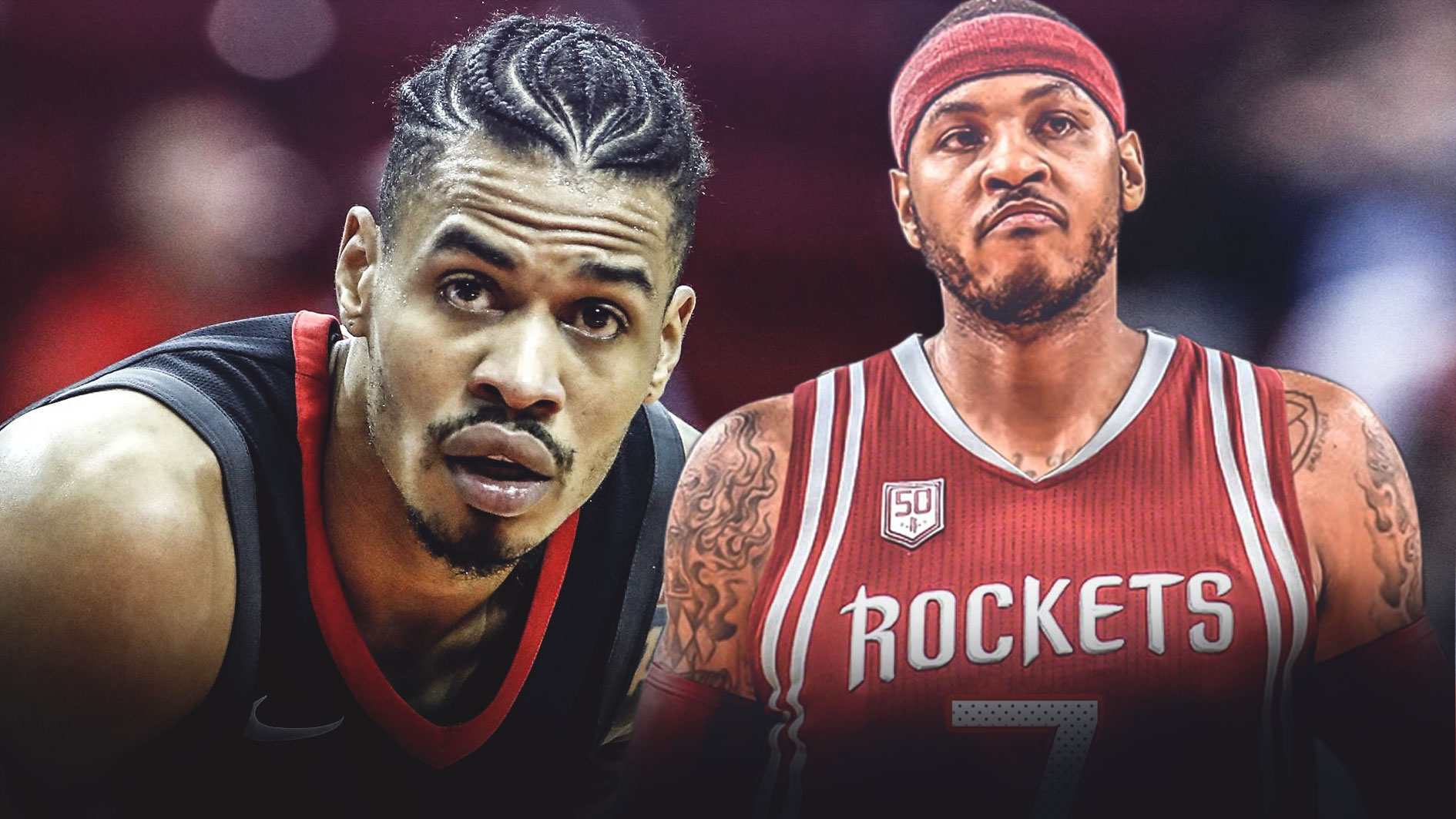 Gerald Green, Carmelo Anthony