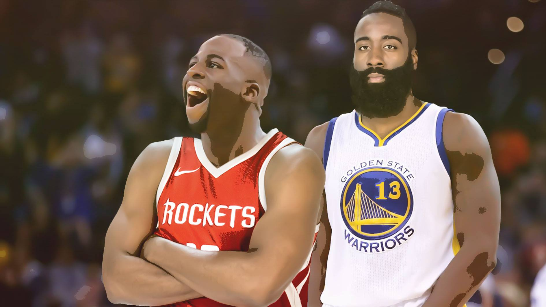 Rockets, Warriors, James Harden, Draymond Green