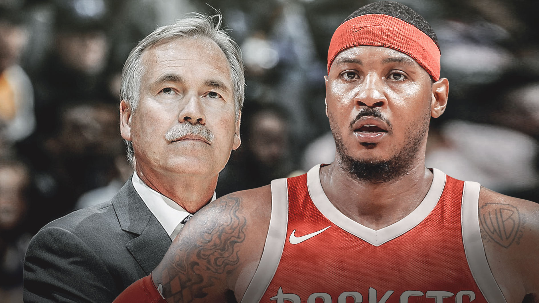 Carmelo Anthony, Mike D'Antoni, Rockets