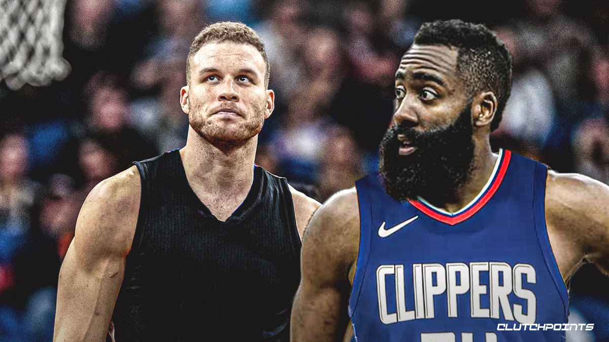 Clippers, James Harden, Blake Griffin